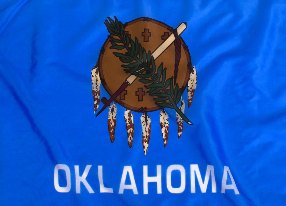 0001 Oklahoma flag emblem