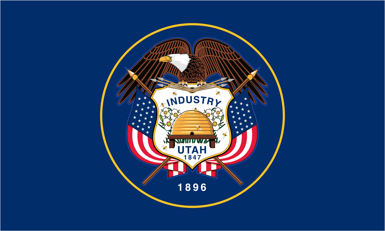 Flag of Utah 2011