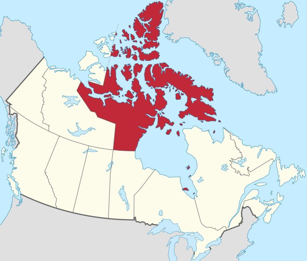 Par TUBS — Travail personnelCette image a été créée avec Adobe Illustrator.Ce fichier a été téléversé avec Commonist.Cette image vectorielle contient des éléments, éventuellement modifiés, qui ont été extraits de: Canada location map.svg (deYug)., CC BY-SA 2.5, https://commons.wikimedia.org/w/index.php?curid=15951627