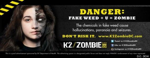 La marijuana sintetica può trasformare in Zombi