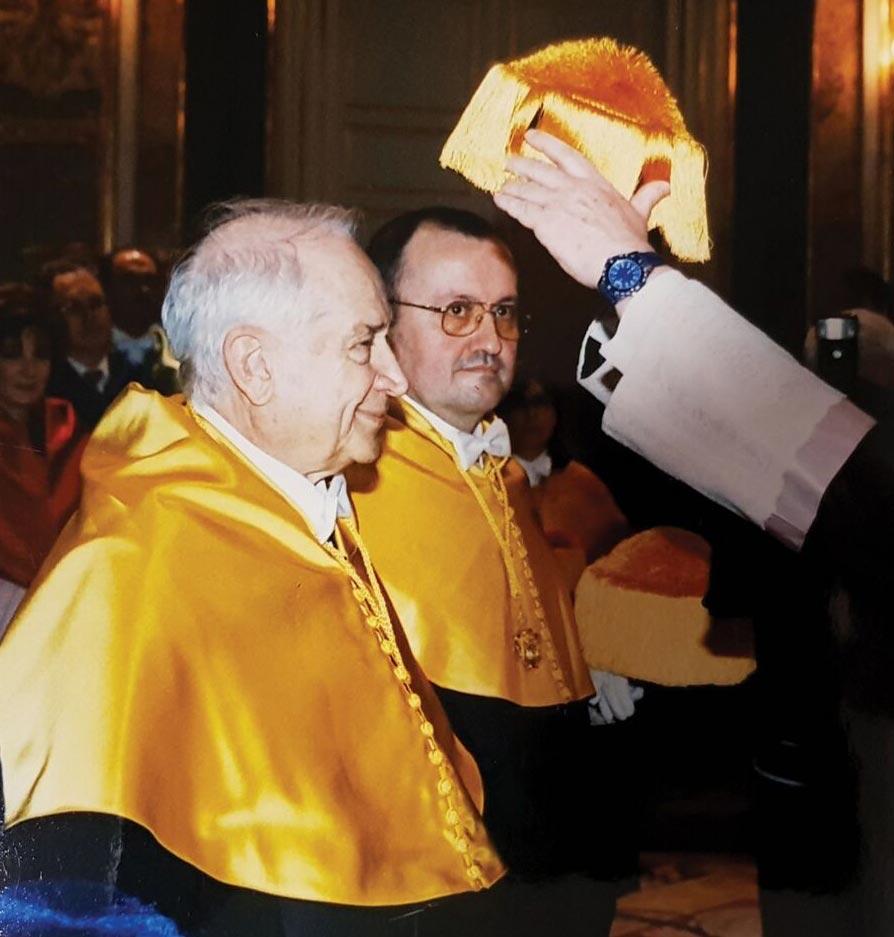 03 Dr Raphael Mechoulam honorary doctorate