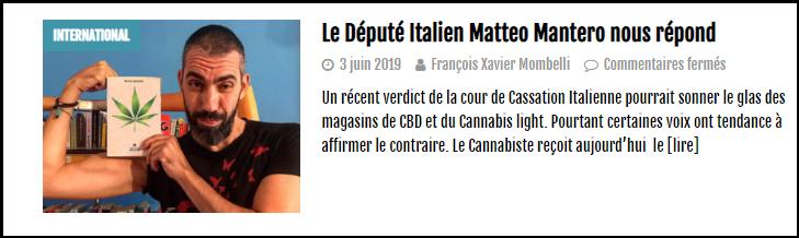 Le Cannabiste