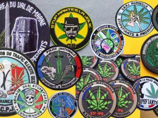 La police et le Cannabis le Cannabiste