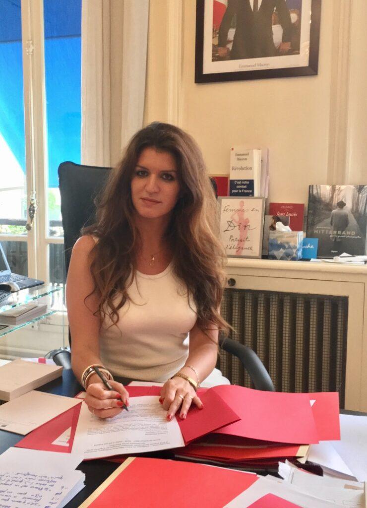Marlene Schiappa a son bureau