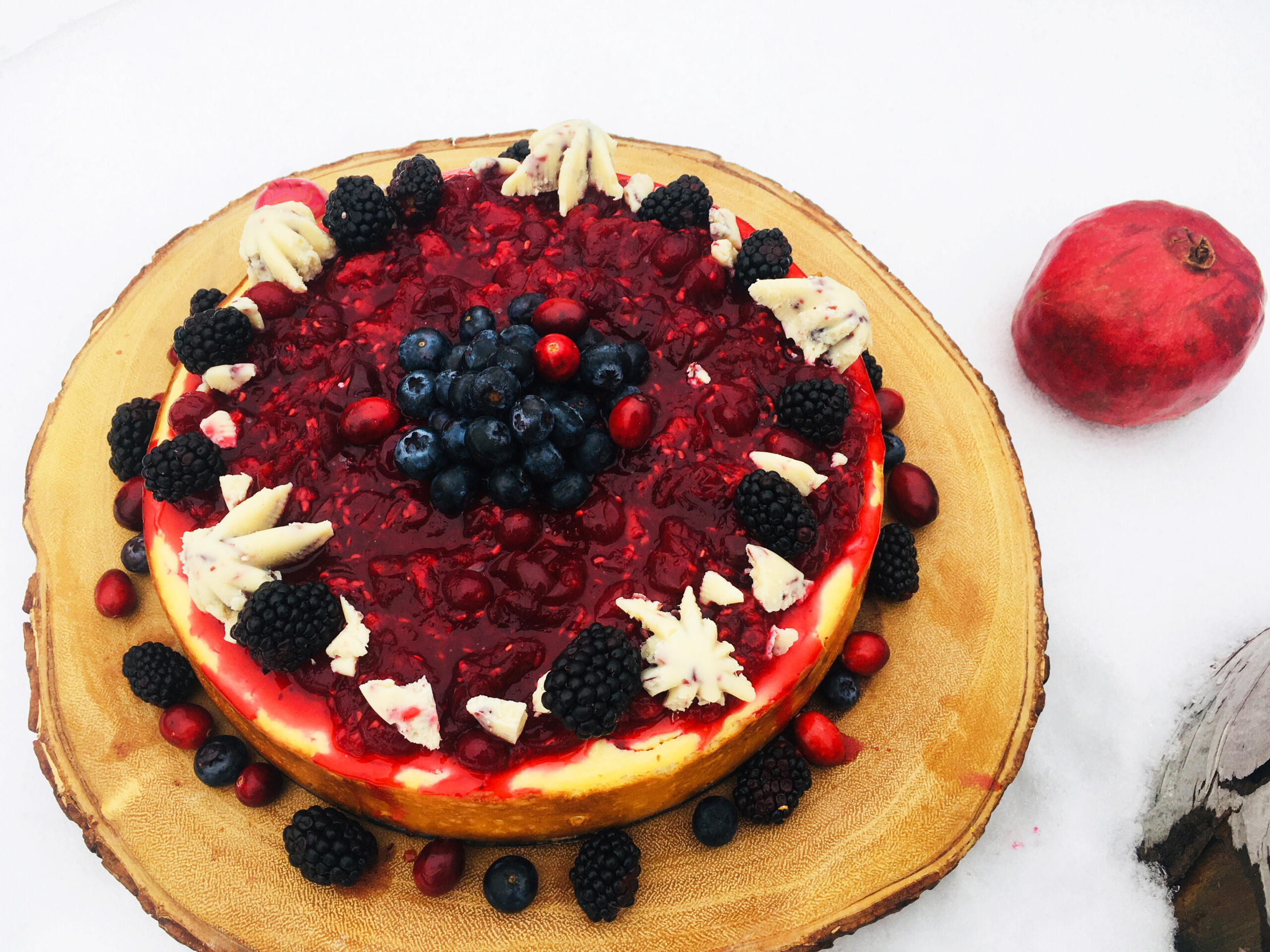 Cheesecake fruits rouges Linotte