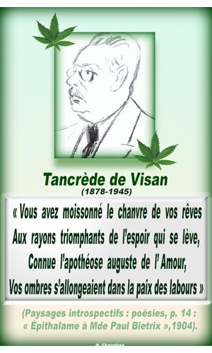 Tancrede De Visan Alexis Chanebeau