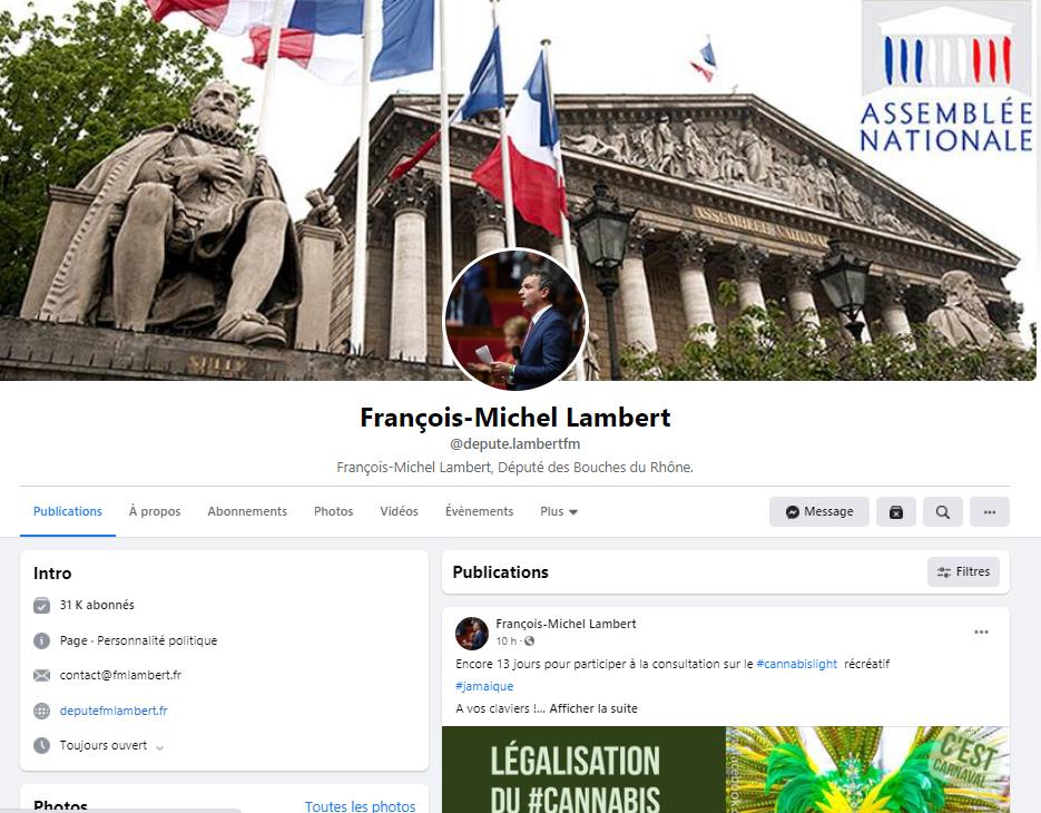 page-facebook-du-député-françois-michel-lambert