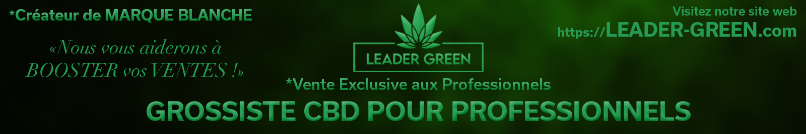 Lecannabiste Leadergreen 2021 Banner 2