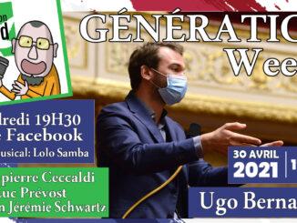 Generation weed live ugo bernalicis