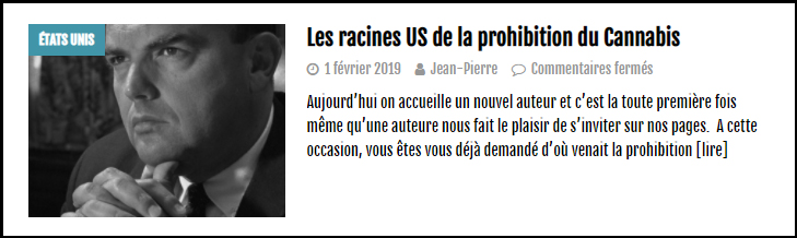 a lire sure lecannabiste1
