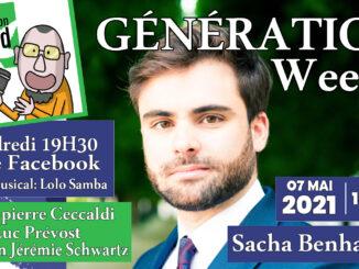 Generation weed live sacha benhamou
