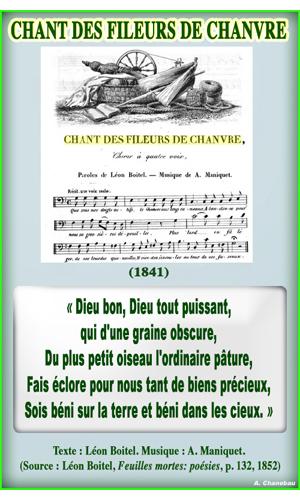 Chanedeau chant des fileurs