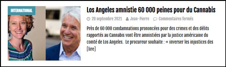 a lire sur le cannabiste amnistie